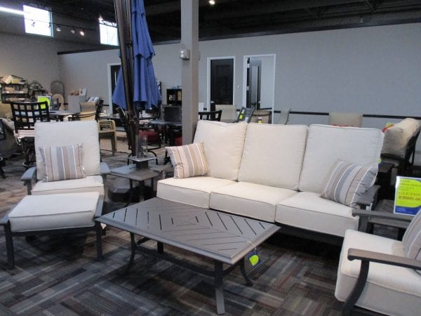 chairs and couch patio set