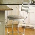 bar stool with backrest